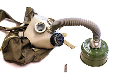 gas-mask from  period of cold war Stock Photo - 802397