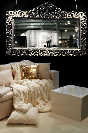 baroque room: baroque style in modern interior