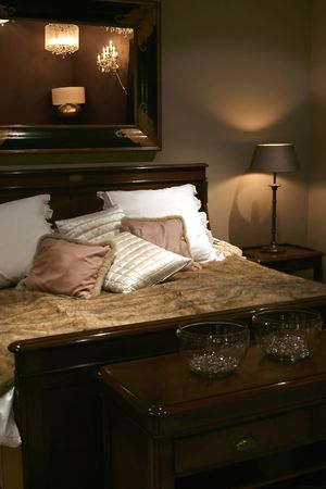 bedroom in classic style  Stock Photo - 802403