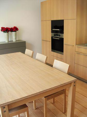 kitchen table in modern kitchen           Stock Photo - 917695
