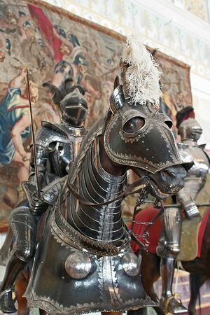 knight horse: Armour and heraldry knight on horses