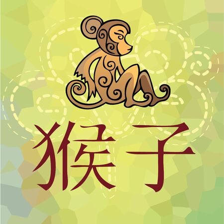 Monkey -China year horoscope photo