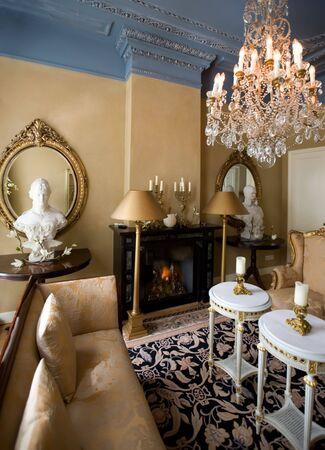 hotel in classic style interior Stock Photo - 3182457