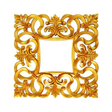 barocco: cornice dorata progettati in esclusiva forma