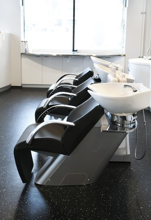 interior of new beauty salon photo