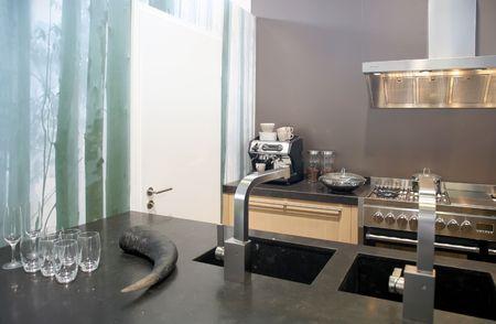 design in modern kitchen Stock Photo - 5045722
