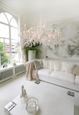 baroque room: white interior