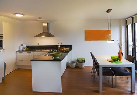 Interior of apartment designed in retro style Stock Photo - 5750829