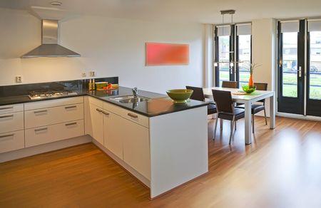 Interior of apartment designed in retro style Stock Photo - 5750842