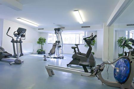 weight room: empty interior of sport room