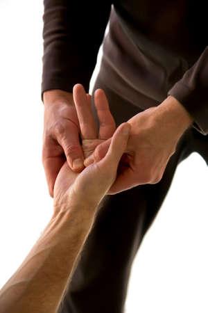 treatment by massage Stock Photo - 6995141