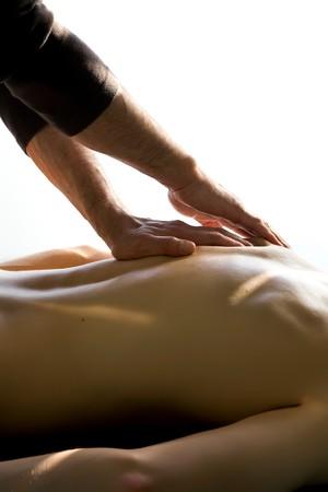 hands massage: massage
