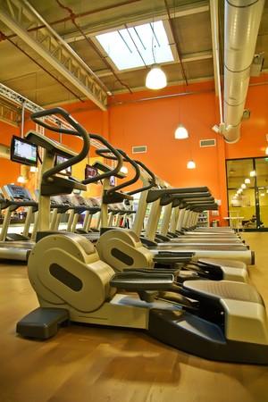 recreation room: sport club Stock Photo