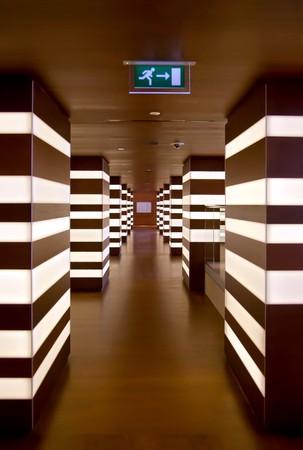 hotel hall: urban corridor