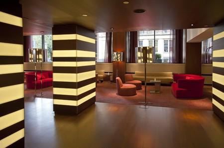 modern inter in hotel hall Stock Photo - 8074386