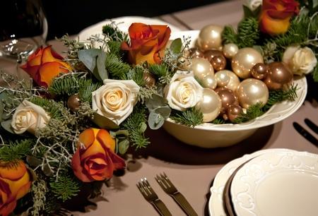 winter table Stock Photo - 8794408