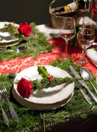 christmas table Stock Photo - 8794401