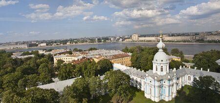 summer panorama view of St-Petersburg Stock Photo - 8794632
