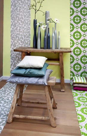 spring color for decoration interior elements Stock Photo - 9151025