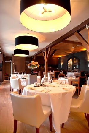 interior of modern restaurant in classic style Stock Photo - 9637029