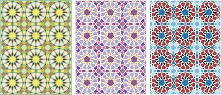ornament of geometric pattern  Vector