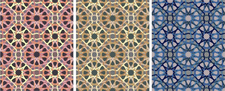 ornament of geometric pattern  Vector