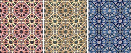 marokko: ornament van geometrische patroon
