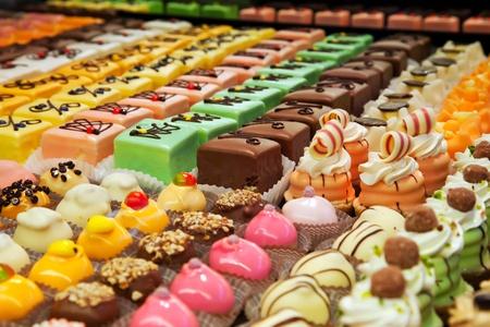 pasteles: de fondo dulce de colores Chocolade bon-bon