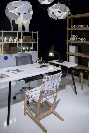 creador: lugar con mucho estilo de trabajo para el diseñador
