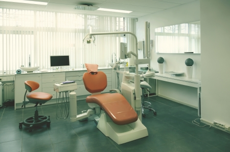 interior of new empty dental room Stock Photo - 14329569