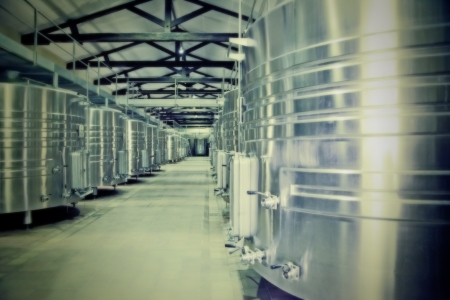 winery distillation space in wine factory Stock Photo - 14902052