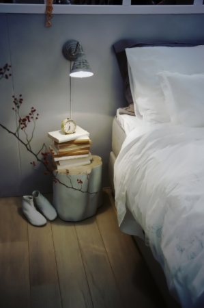 seasonal retro bed room photo