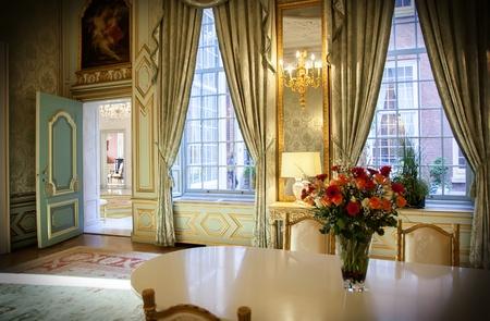 luxe: Int�rieur du palais de luxe classique