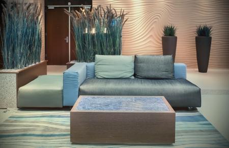 Innere Lounge Platz in Haag Hotels Standard-Bild - 17368377