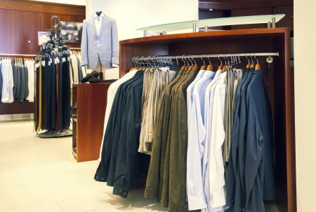 interior of classic man dress shop Stock Photo - 20487102
