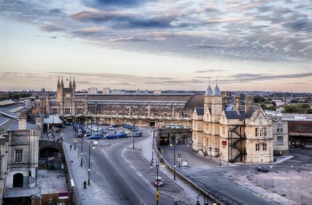 panorama at Bristol station square
