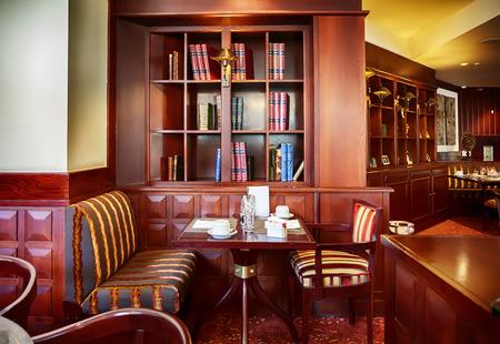 brasserie: modern restaurant Stock Photo