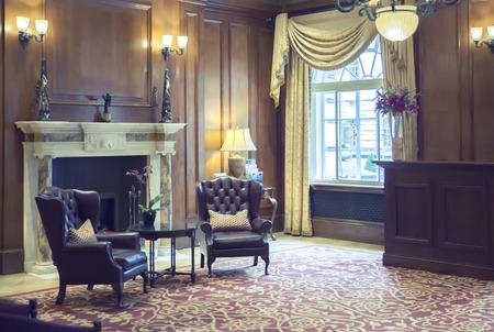 Lobby Zimmer in klassischen Hotel