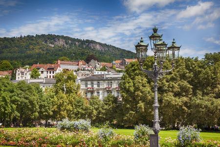 Sommerlandschaft in Baden Baden Lizenzfreie Bilder