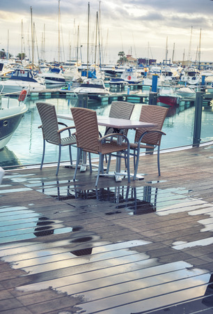 vilamoura: outdoor autumn  terrace by Vilamoura marine, Portugal