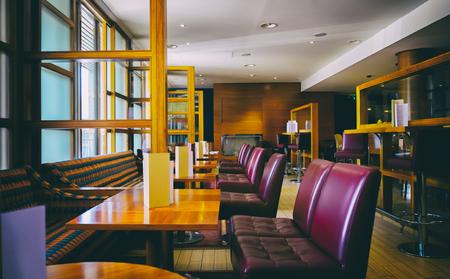 comtemporary: interior of stylish bar, contemporary design Stock Photo