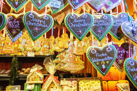 traditional sweet winter decoration, Vienna market