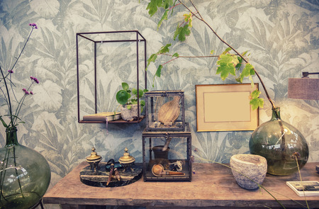 details in home interior decoration