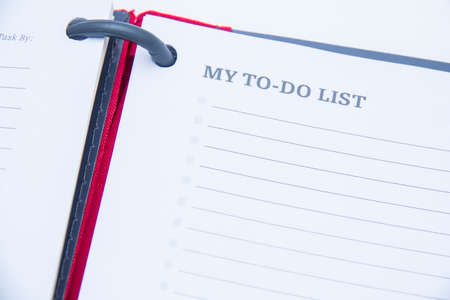 mijn to do list Stockfoto