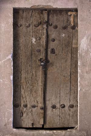 Eastern alten Tür Standard-Bild