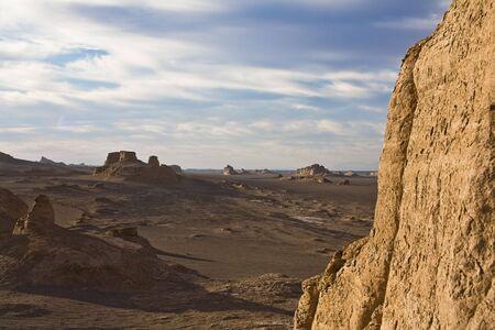 Sandy hills in a deser