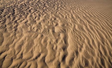 Sandy Wüste Textur Standard-Bild