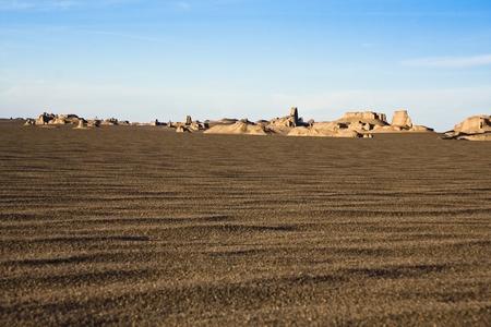 Sandigen Hügel in der Wüste