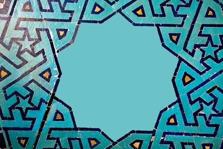 Beautiful vintage tile texture