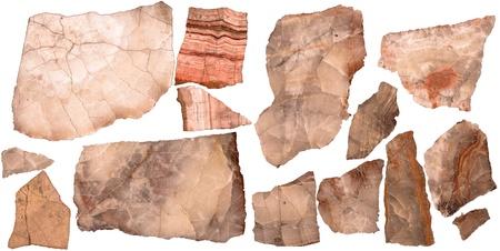 Objective stone section Standard-Bild